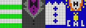 Alpha pattern #9448