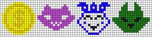 Alpha pattern #9452