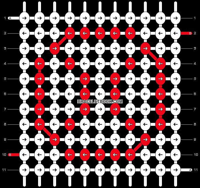 Alpha pattern #9455 pattern