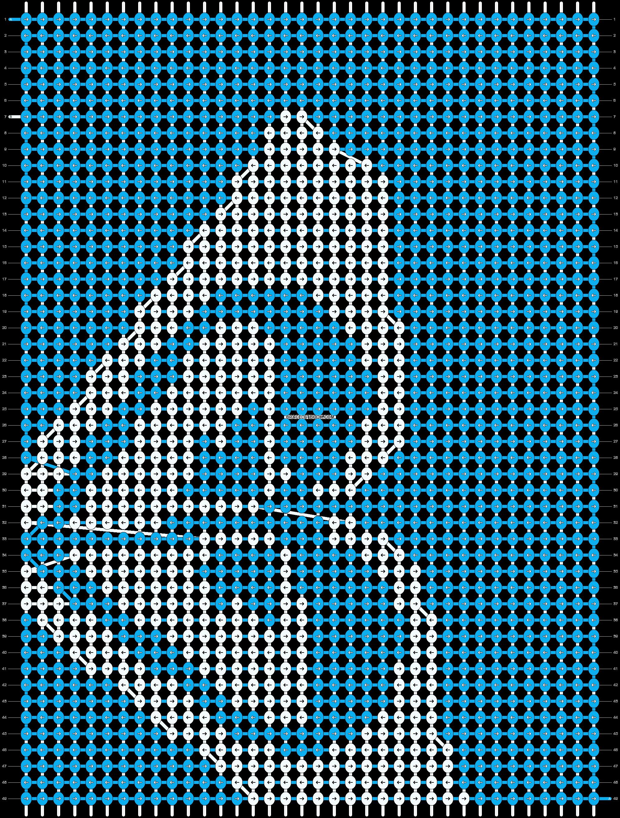 Alpha pattern #9462 pattern