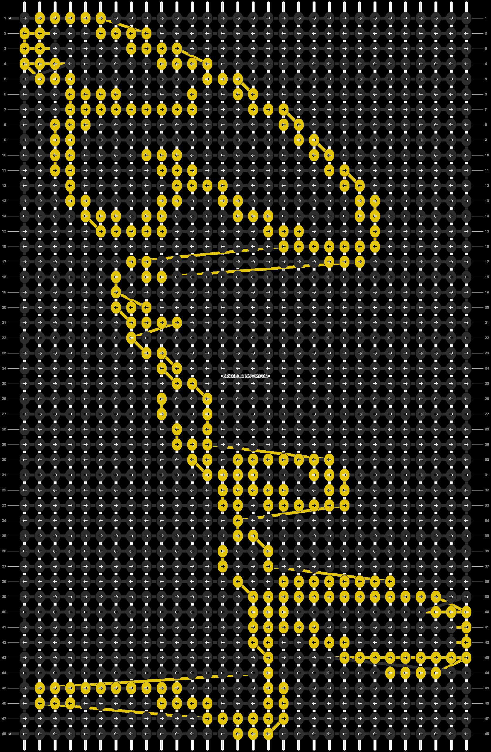 Alpha pattern #9466 pattern
