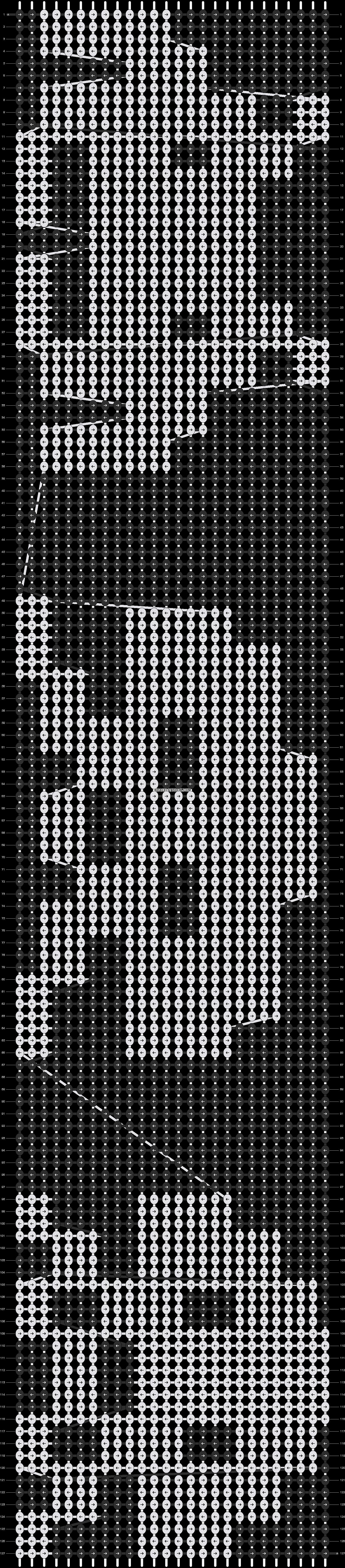 Alpha pattern #9470 pattern