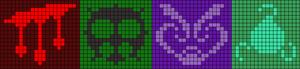 Alpha Friendship Bracelet Pattern #9476