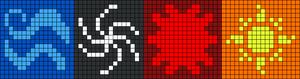 Alpha pattern #9478