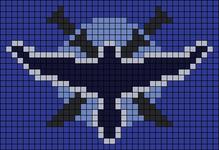 Alpha pattern #9484