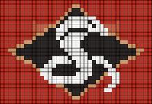 Alpha pattern #9485