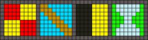 Alpha pattern #9487
