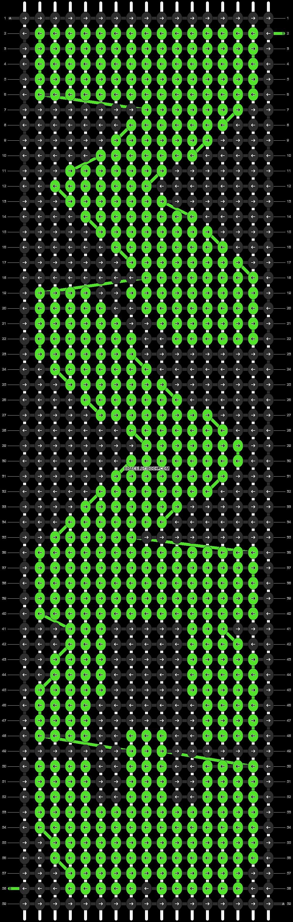 Alpha pattern #9493 pattern