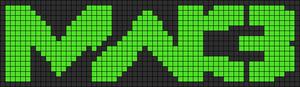 Alpha Friendship Bracelet Pattern #9493