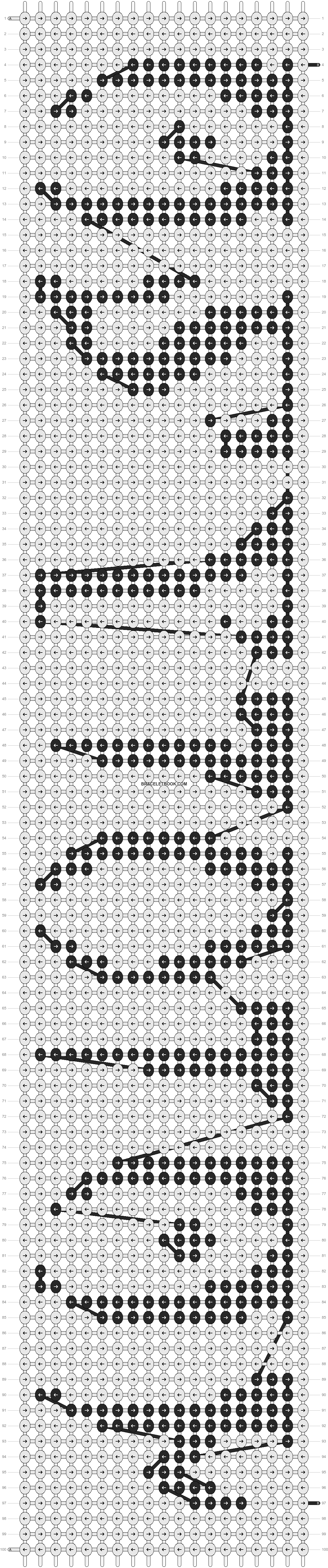 Alpha pattern #9494 pattern
