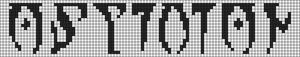 Alpha pattern #9494