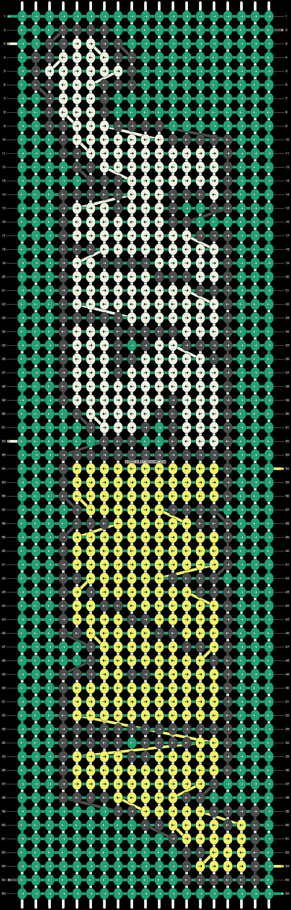 Alpha pattern #9498 pattern