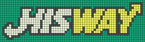 Alpha pattern #9498