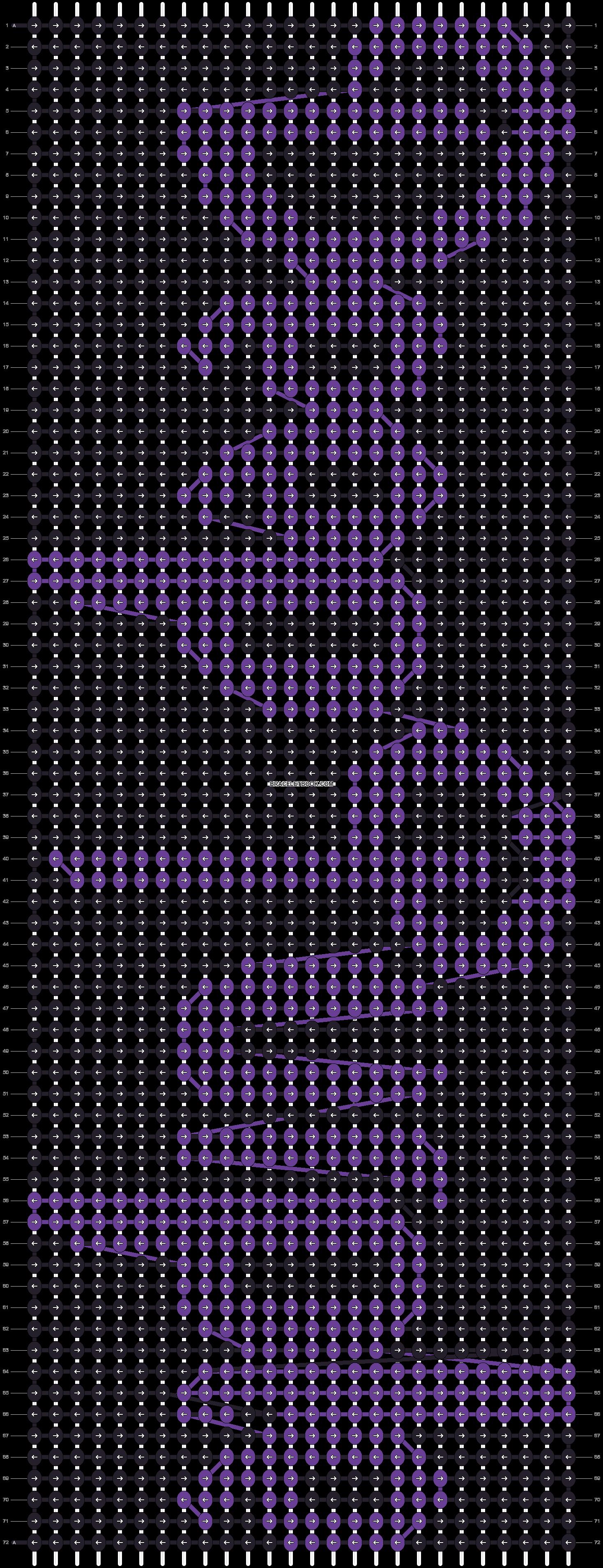 Alpha pattern #9499 pattern