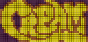 Alpha Friendship Bracelet Pattern #9501