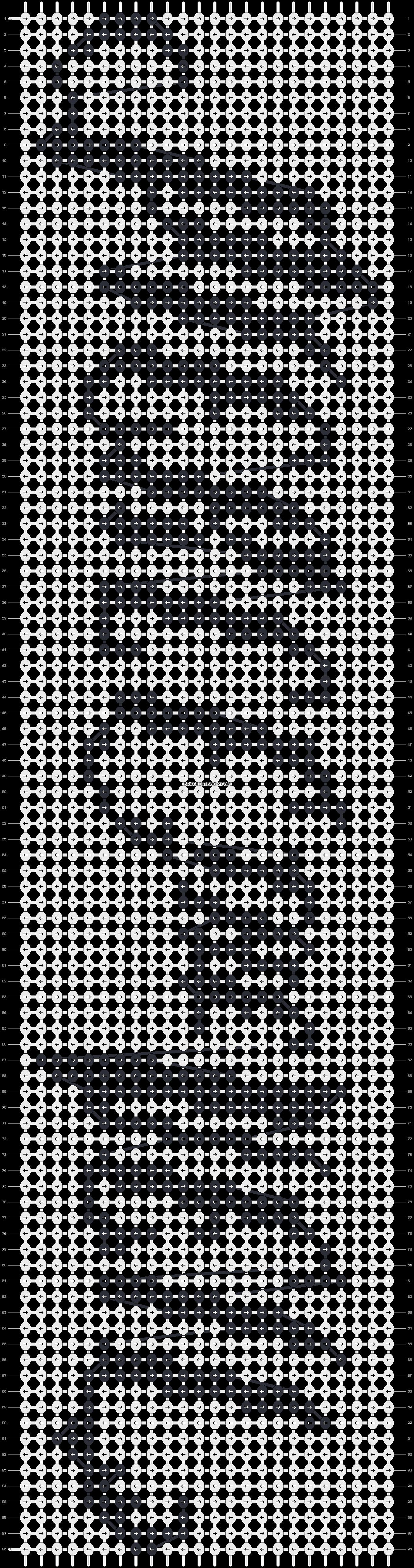 Alpha pattern #9504 pattern