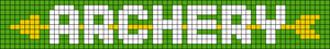 Alpha Friendship Bracelet Pattern #9509