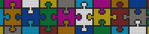 Alpha Friendship Bracelet Pattern #9513