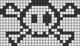 Alpha pattern #9518
