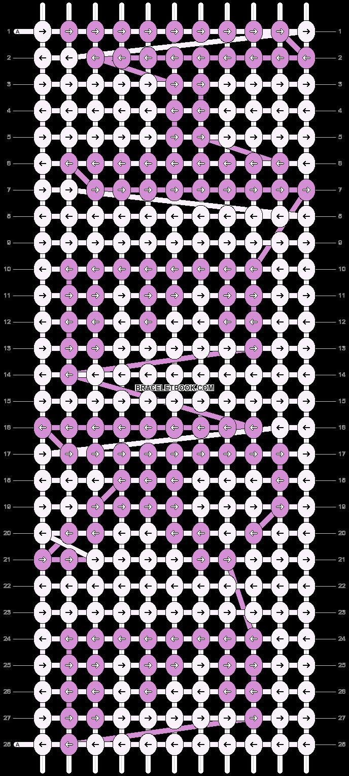 Alpha pattern #9526 pattern
