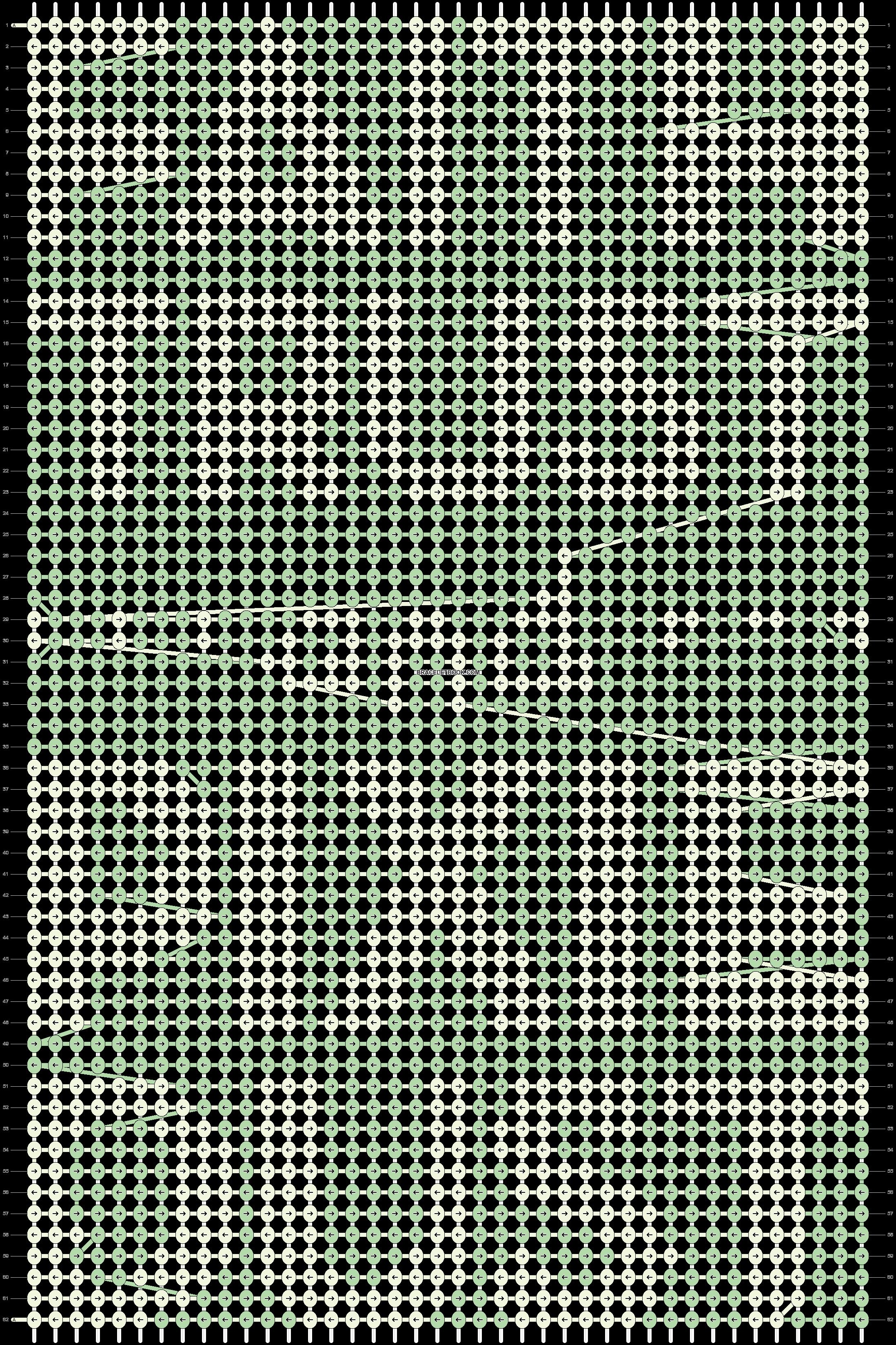 Alpha pattern #9534 pattern