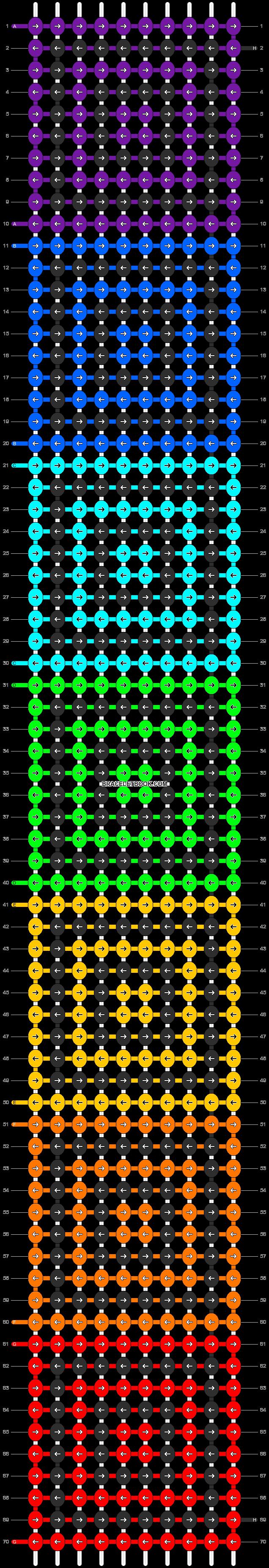 Alpha pattern #9543 pattern