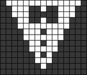Alpha Friendship Bracelet Pattern #9544