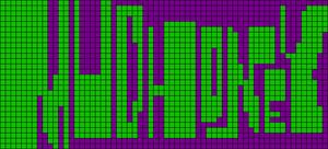 Alpha pattern #9545