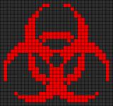 Alpha Friendship Bracelet Pattern #9551
