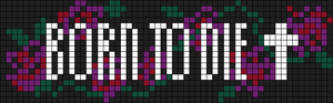 Alpha pattern #9564