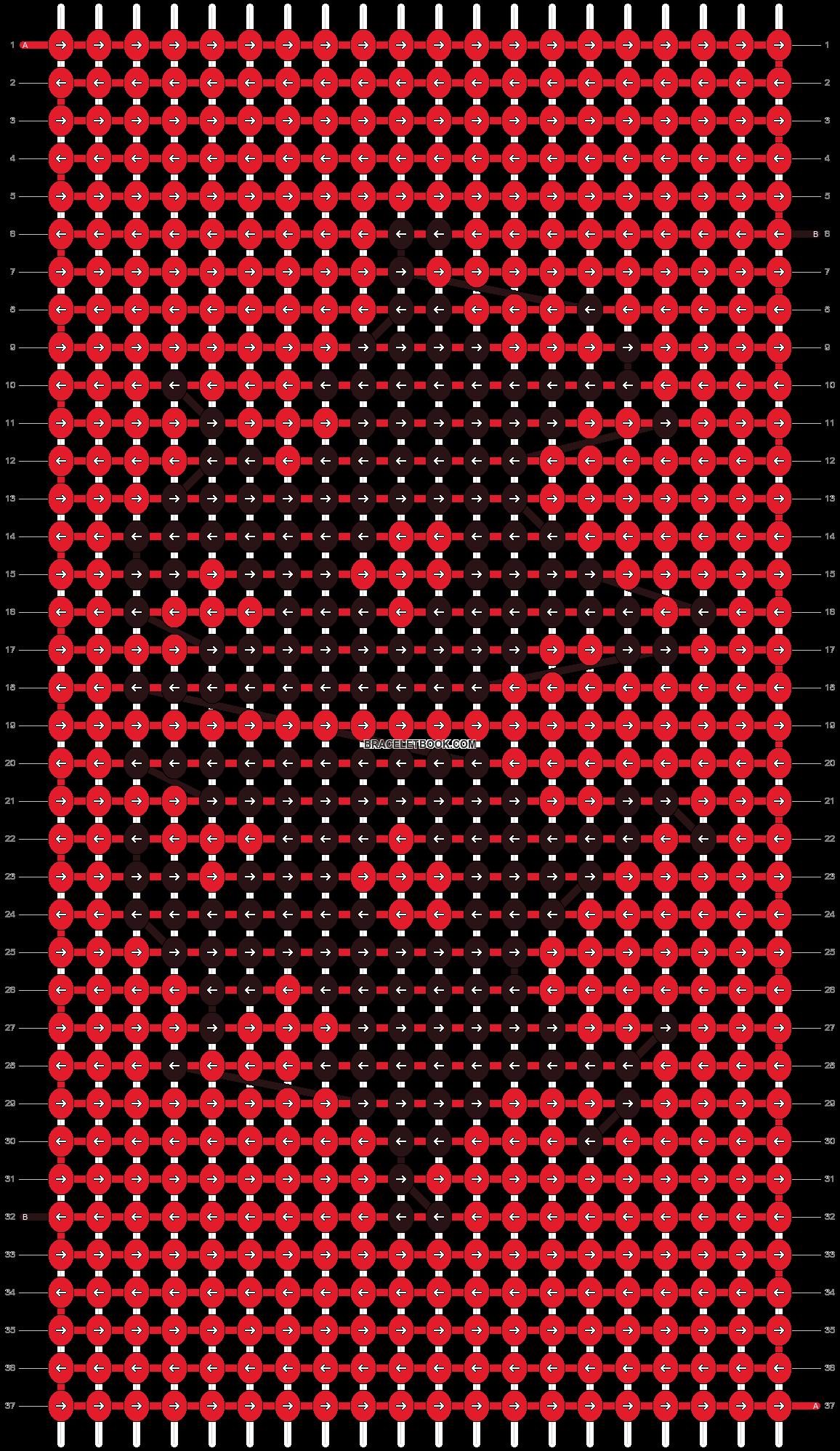 Alpha pattern #9565 pattern