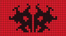 Alpha pattern #9565