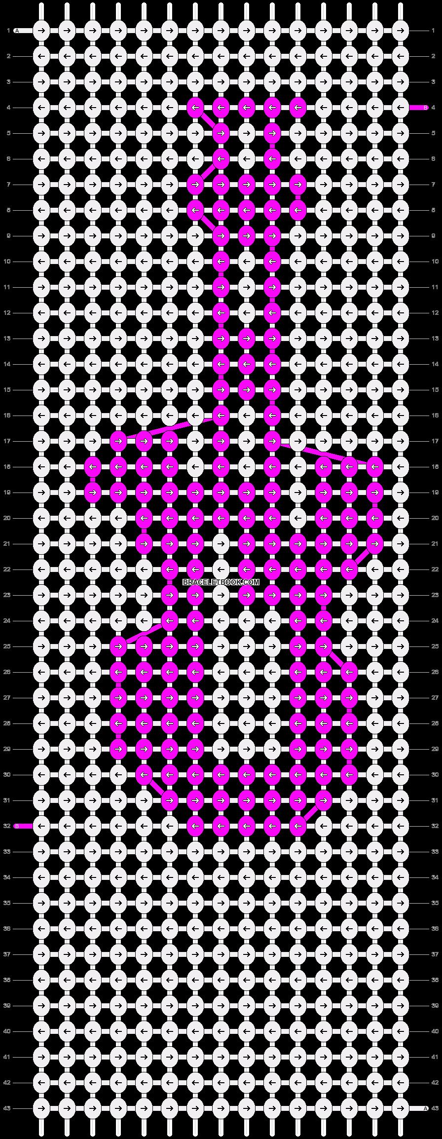 Alpha pattern #9571 pattern