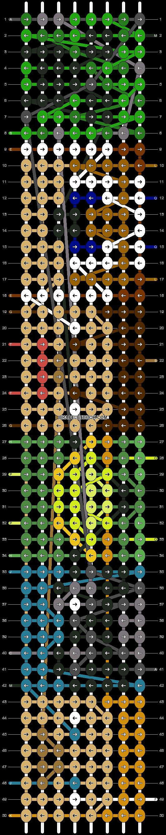 Alpha pattern #9576 pattern