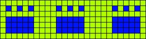 Alpha pattern #9579