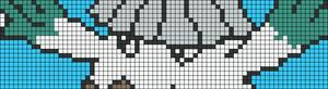Alpha pattern #9580