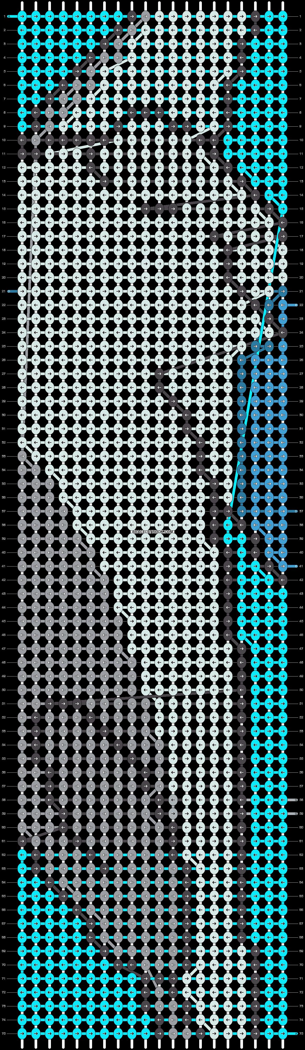 Alpha pattern #9583 pattern