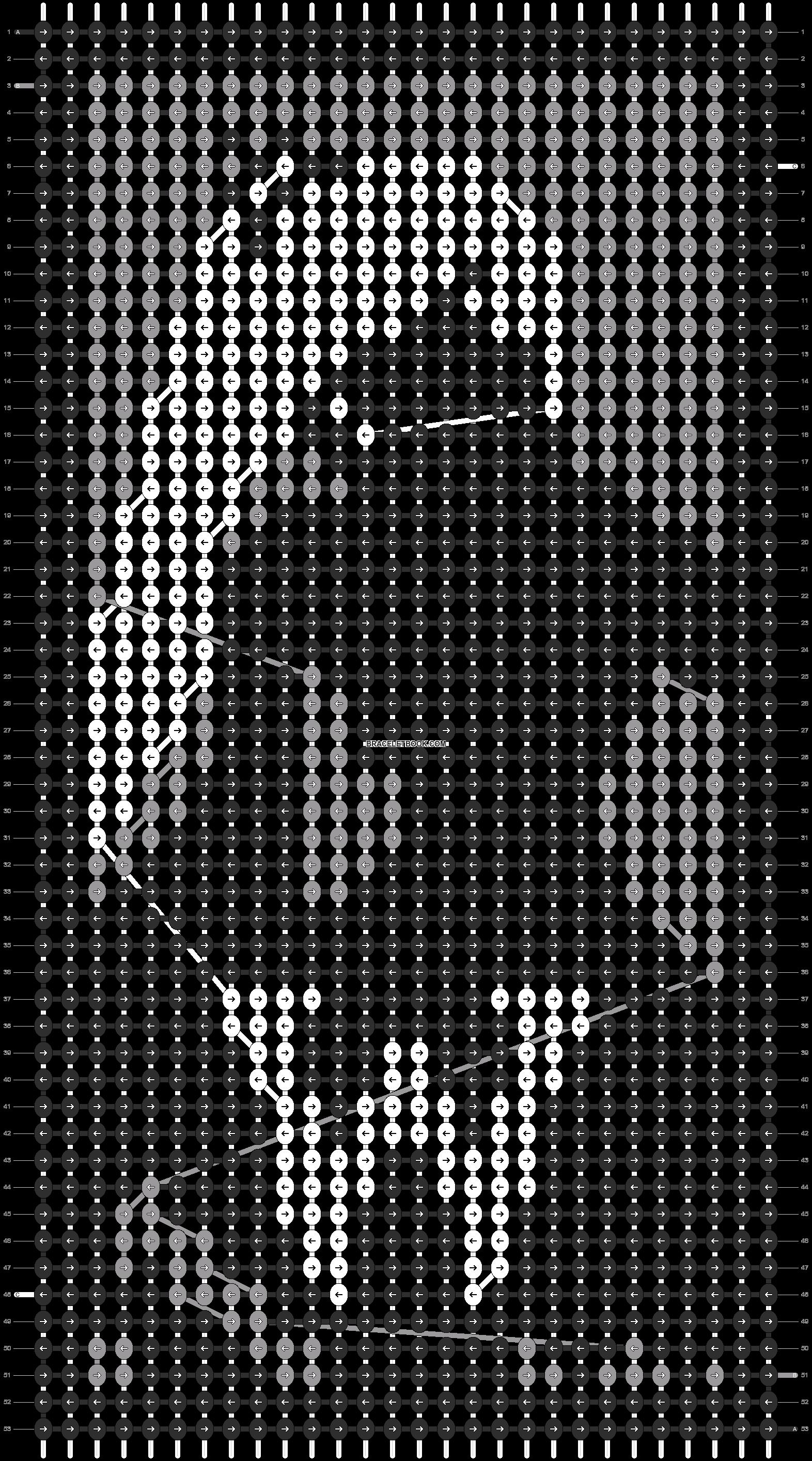 Alpha pattern #9586 pattern