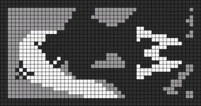 Alpha pattern #9586