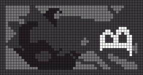 Alpha Friendship Bracelet Pattern #9587