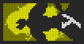 Alpha Friendship Bracelet Pattern #9588