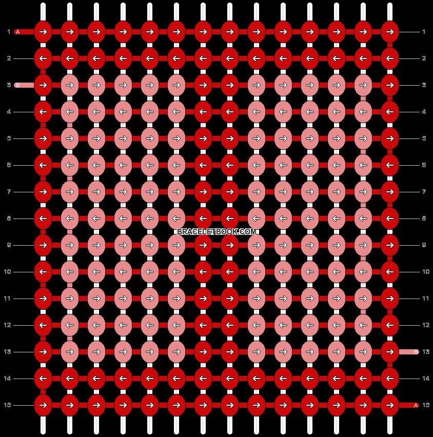 Alpha pattern #9595 pattern