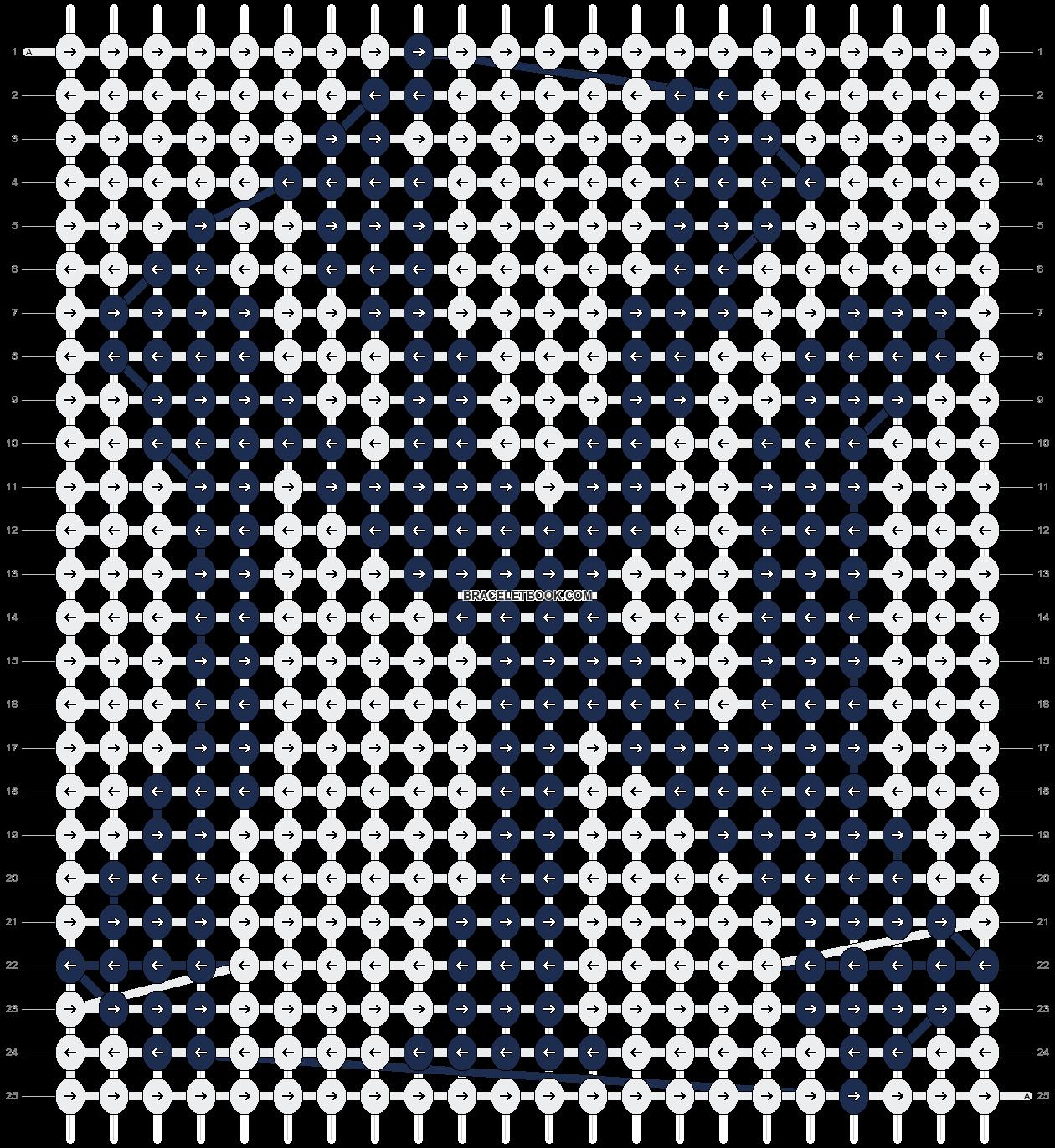 Alpha pattern #9596 pattern