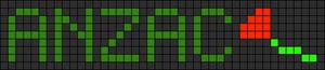 Alpha pattern #9600