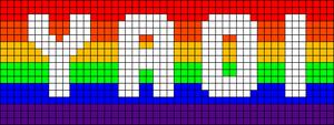 Alpha Friendship Bracelet Pattern #9603