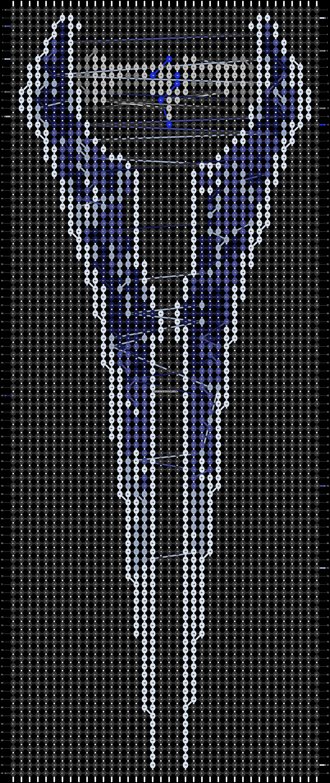 Alpha pattern #9605 pattern