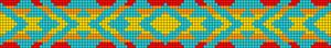 Alpha Friendship Bracelet Pattern #9609
