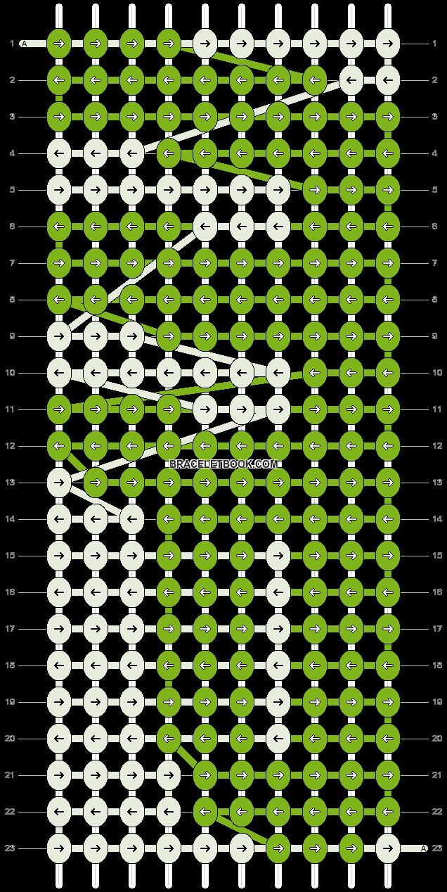Alpha pattern #9617 pattern