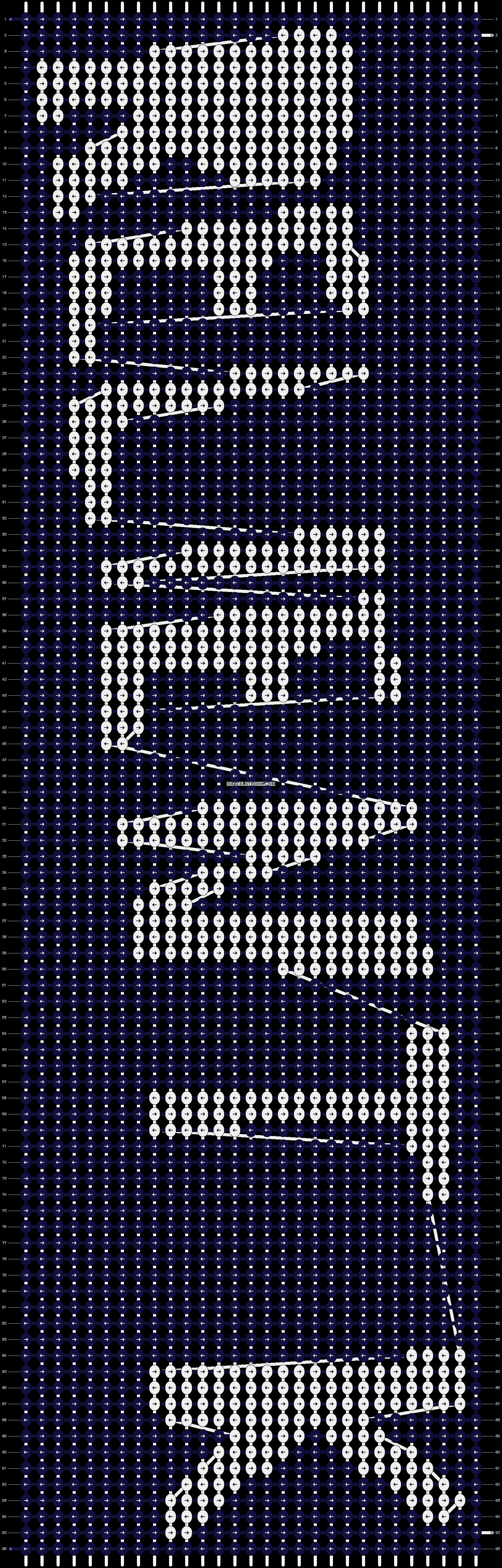 Alpha pattern #9628 pattern
