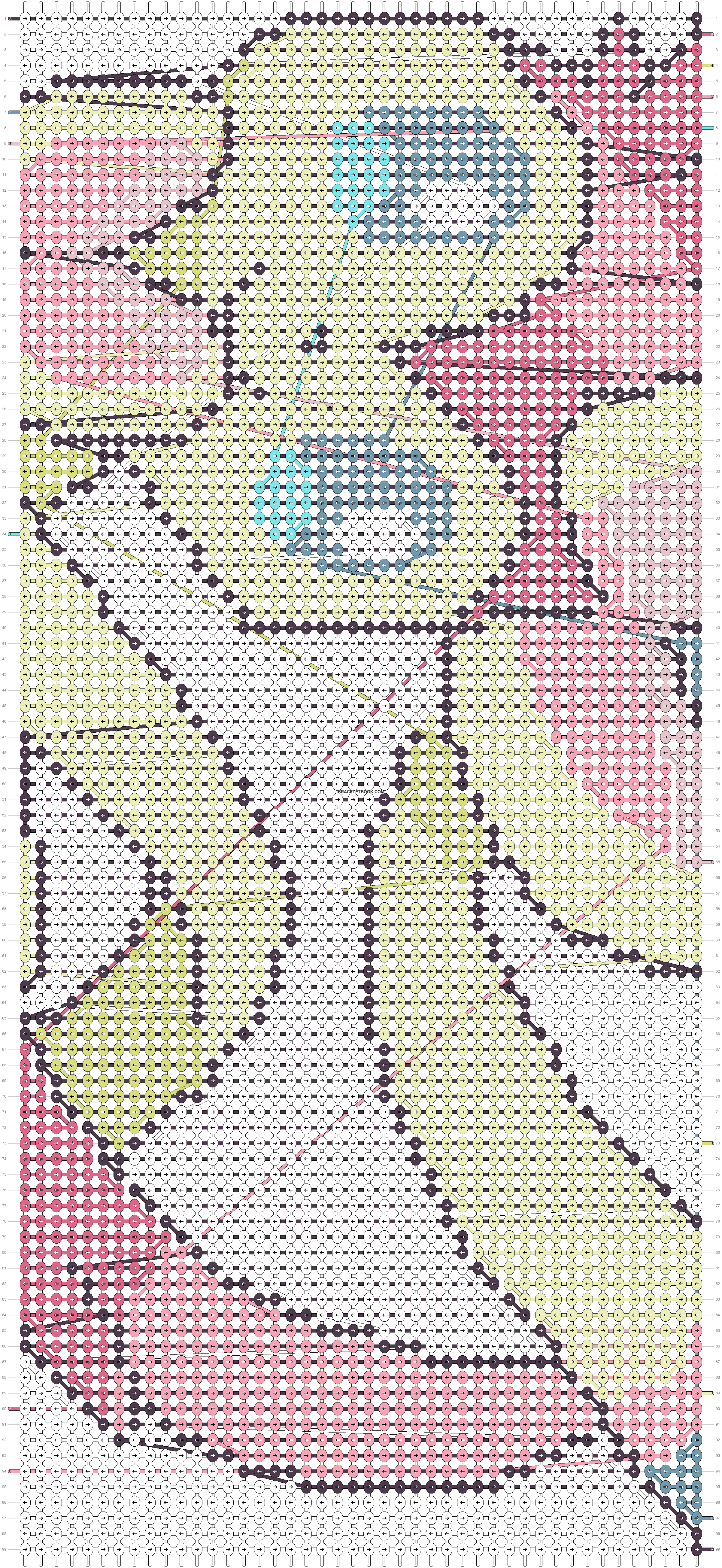 Alpha pattern #9629 pattern
